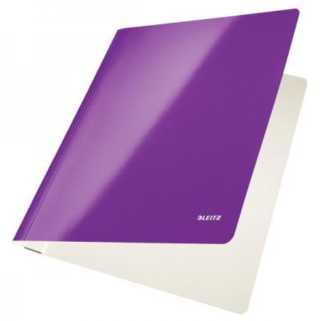 WOW Lakkfényű karton gyorslefűző 30010062 lila