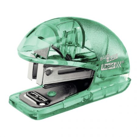 Colour Ice Mini tűzőgép Blister áttetsző 5001326