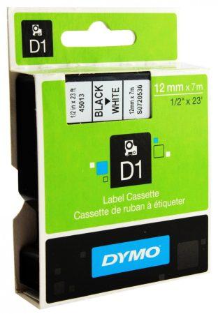 Dymo S0720530 (45013) D1 12mm*7m fek/feh kazetta AKC