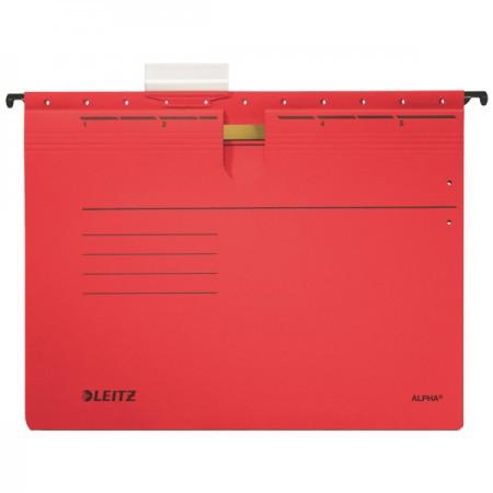 Alpha lefűzős függőmappa 19840125 piros