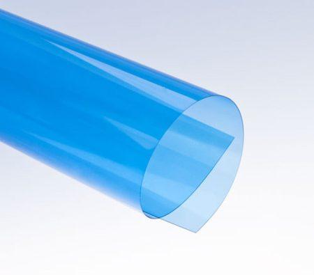 Előlap RECO átlátszó kék. A/4 200mn