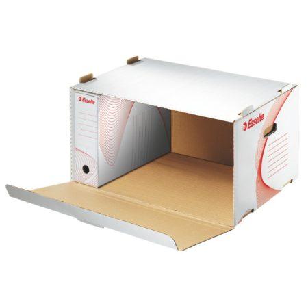 Boxy Ess 128910 archiváló konténer előre nyíló tet