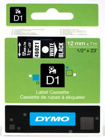 Dymo S0720610 (45021) D1 12mm*7m feh/fek