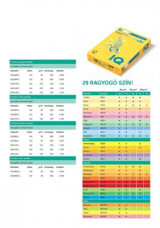 IQ Color I AB48 A/4 80gr vízkék (TH vagy SZÁLL.) KP