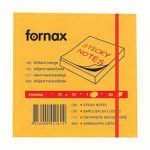 Post it Fornax 75*75mm 80lap neon narancs