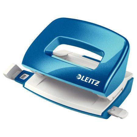 WOW metálfényű mini lyukasztó 10 lap 50601036 kék
