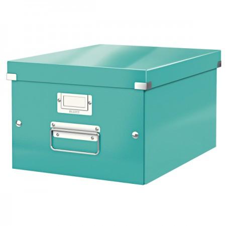CLICK&STORE A4 méretű doboz 60440051 jégkék
