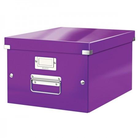 CLICK&STORE A4 doboz 60440062 lila PROMO