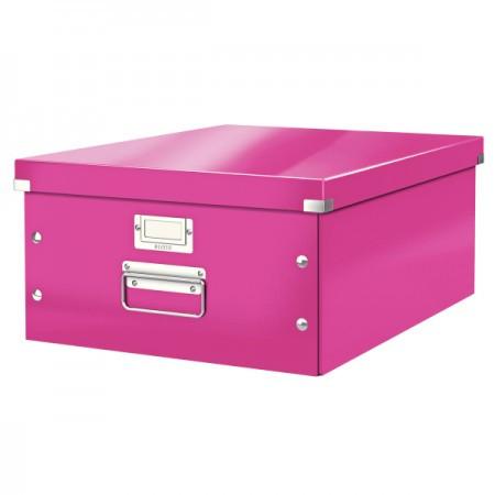 CLICK&STORE A3 méretű doboz 60450023 rózsaszín