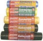 Szemetes zsák (Mazzini) sárga (30L) 15db/roll