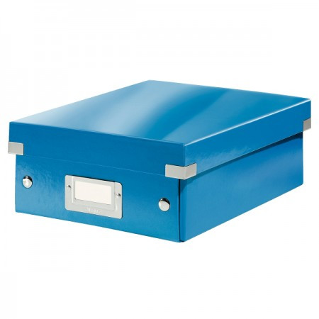 CLICK&STORE rendszerező doboz S 60570036 kék PROMO
