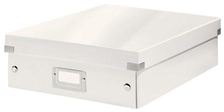 CLICK&STORE rendszerező doboz M 60580001 fehér PROMO
