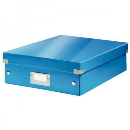 CLICK&STORE rendszerező doboz M 60580036 kék