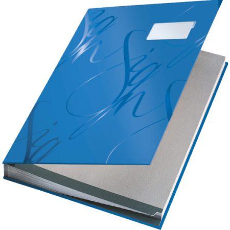 Aláírókönyv Ess 57450035 kék