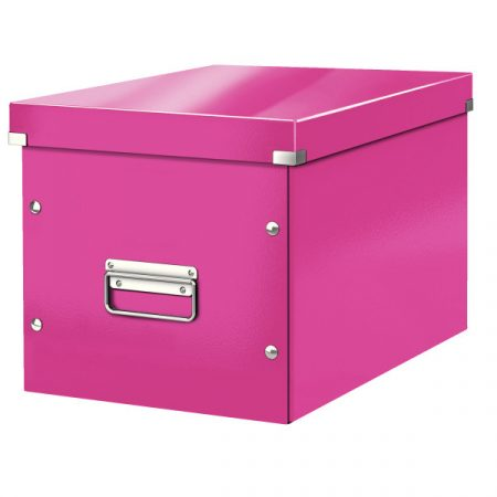 CLICK&STORE kocka doboz L méret rózsa 61080023