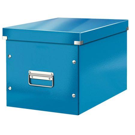 CLICK&STORE kocka doboz L kék 61080036 PROMO