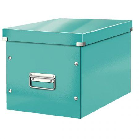 CLICK&STORE kocka doboz L méret jégkék 61080051