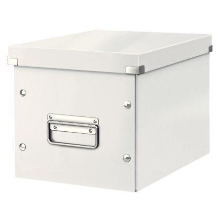 CLICK&STORE kocka doboz M 61090001 fehér PROMO