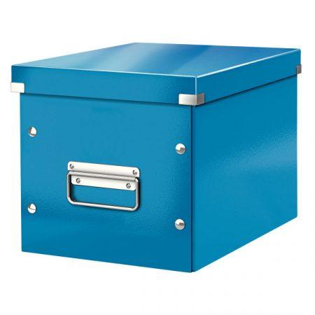 CLICK&STORE kocka doboz M méret kék 61090036