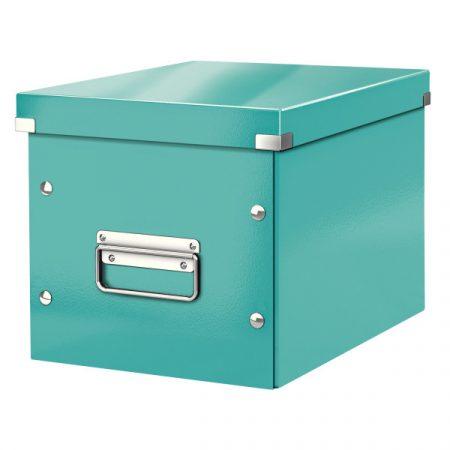 CLICK&STORE kocka doboz M 61090051 jégkék PROMO