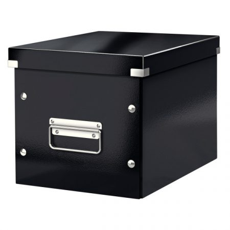 CLICK&STORE kocka doboz M méret fekete 61090095