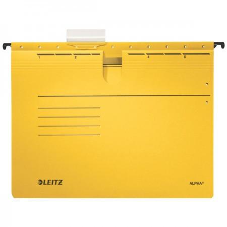 Alpha lefűzős függőmappa 19840115 sárga