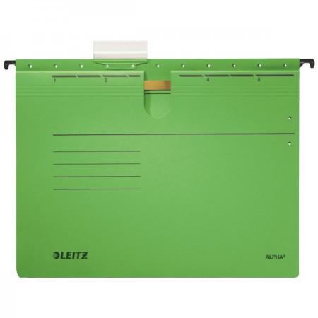 Alpha lefűzős függőmappa 19840155 zöld