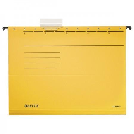 Alpha standard függőmappa 19850115 sárga