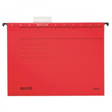 Alpha standard függőmappa 19850125 piros