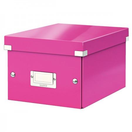 CLICK&STORE A5 doboz 60430023 rózsasz