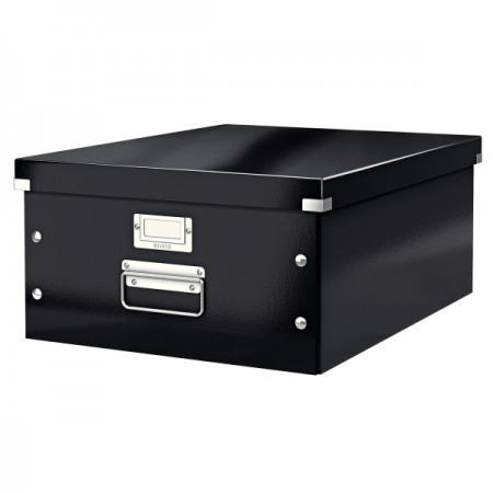 CLICK&STORE A3 doboz 60450095 fekete PROMO