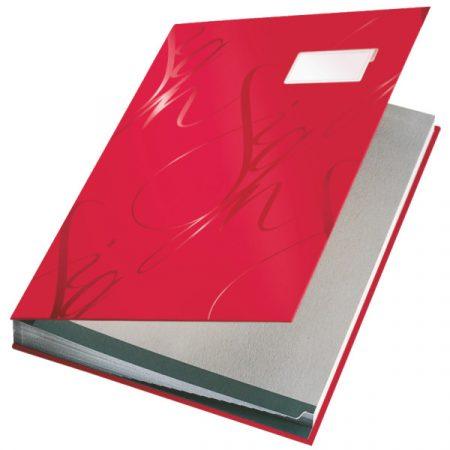 Aláírókönyv Ess 57450025 piros