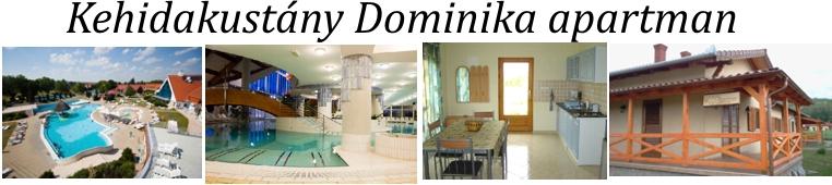Dominika apartman Kehidakustány