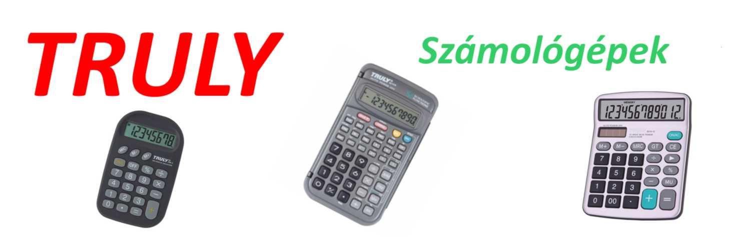 TRULY számológépek