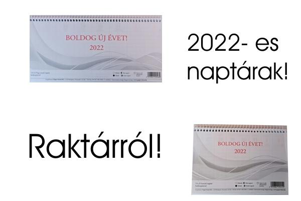 2022-es asztali naptárak